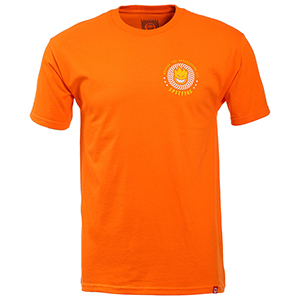 Spitfire K.T.U.L T-Shirt Orange/Yellow