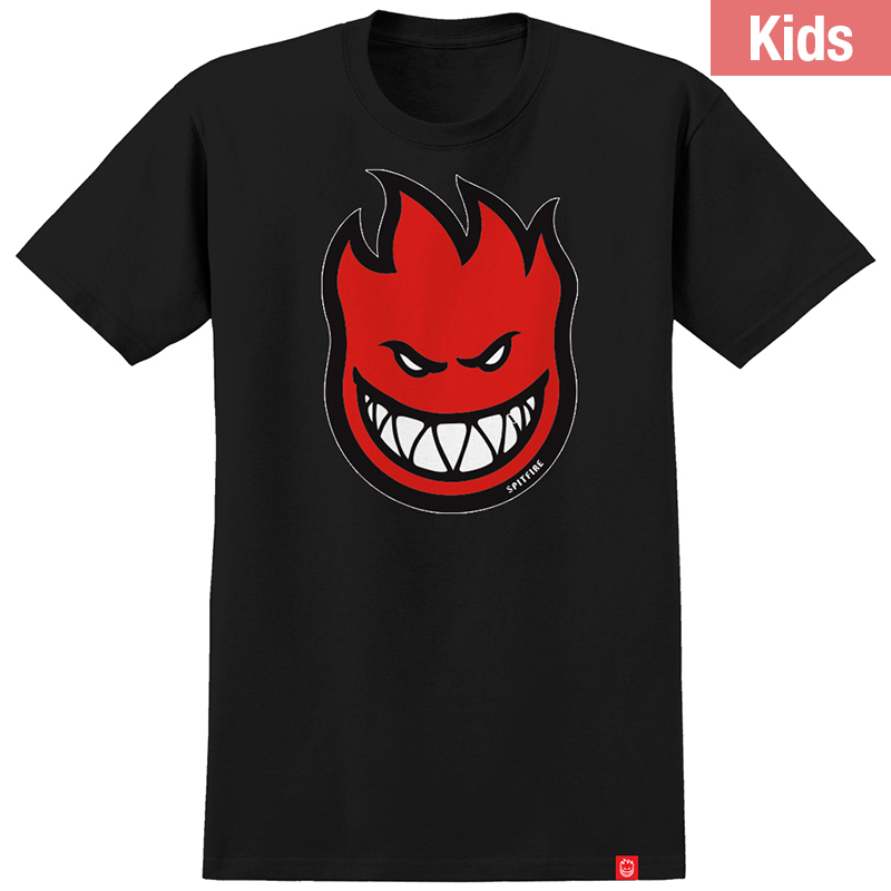 Spitfire Kids Bighead Fill T-Shirt Black/Red