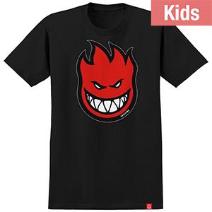 Spitfire Kids Bighead Fill T-Shirt Black/Red
