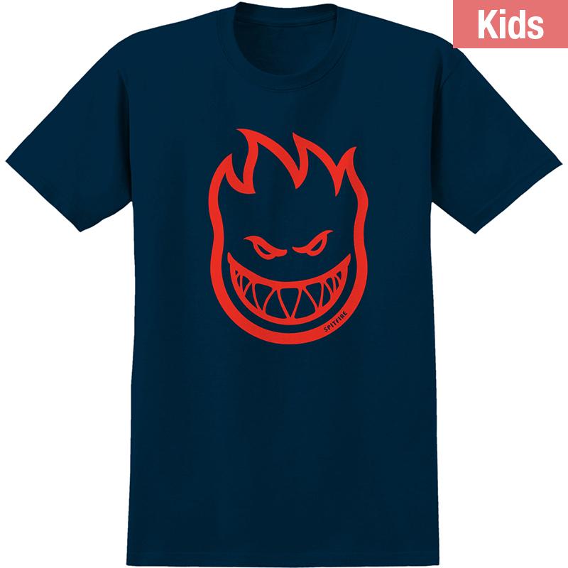 Spitfire Kids Bighead T-Shirt Navy