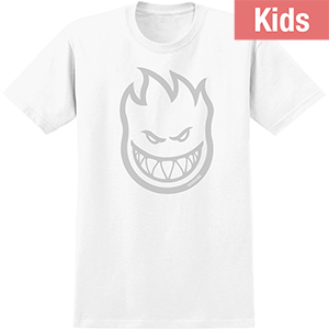 Spitfire Kids Bighead T-Shirt White/Grey