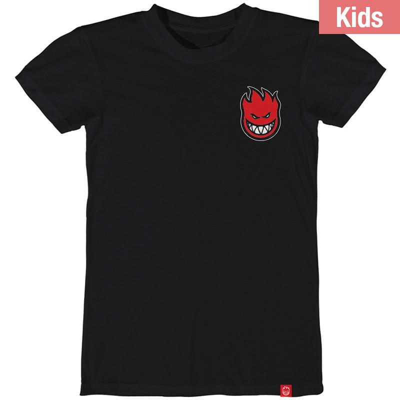 Spitfire Kids Lil Bighead Fill T-Shirt Black/Red