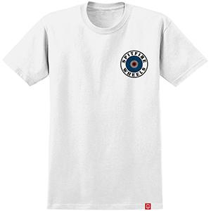 Spitfire Og Circle T-Shirt White/Multi