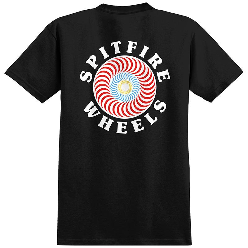 Spitfire Og Classic Fill T-Shirt Black