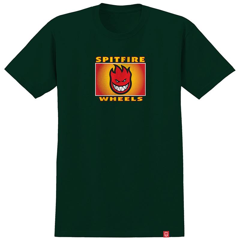 Spitfire Spitfire Label T-Shirt Forrest Green