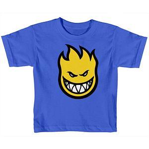 Spitfire Toddler Bighead Fill T-Shirt Royal Yellow Fill