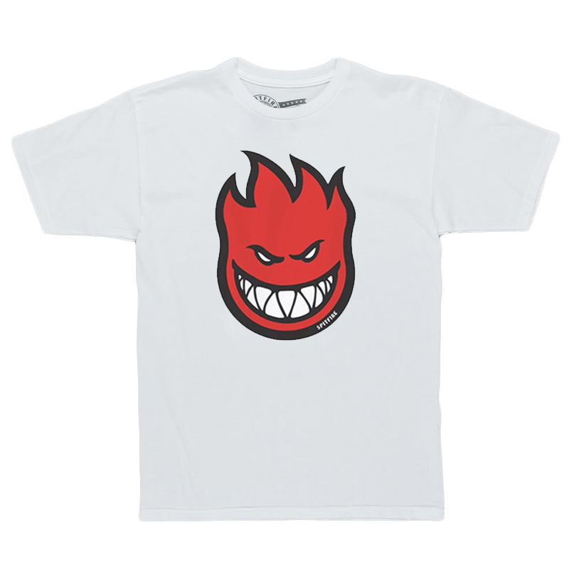 Spitfire Toddler Bighead Fill T-Shirt White /Red