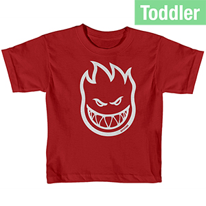 Spitfire Toddler Bighead T-Shirt Red