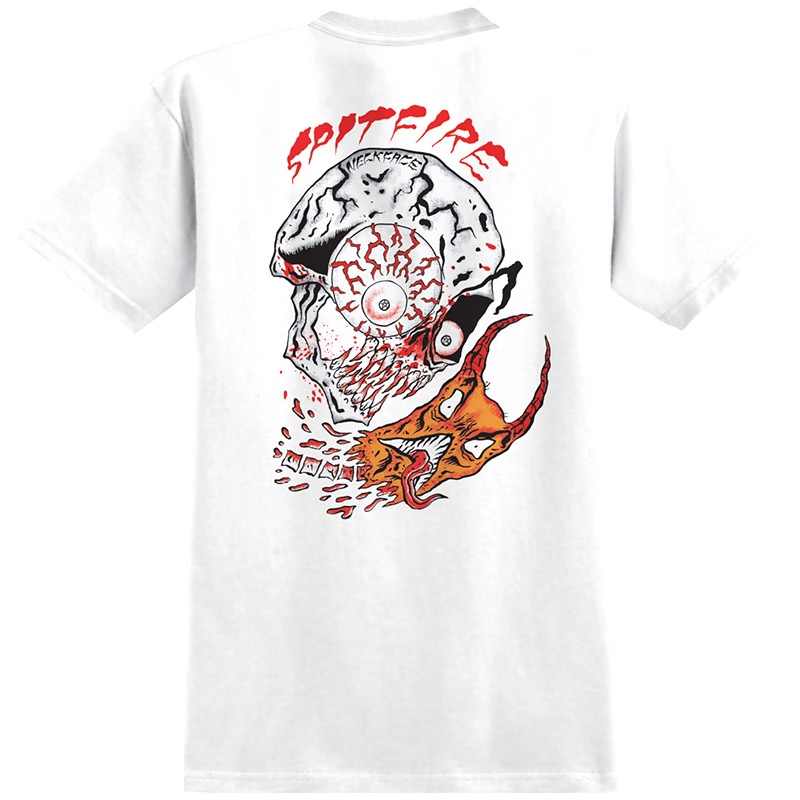 Spitfire x Neckface Broke Off T-Shirt White