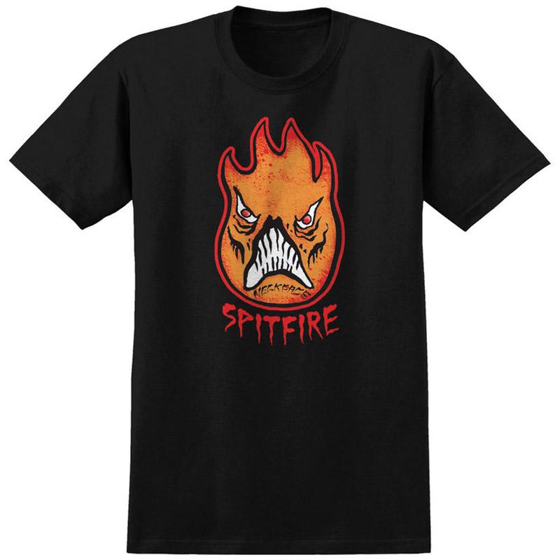 Spitfire x Neckface Neckhead T-Shirt Black