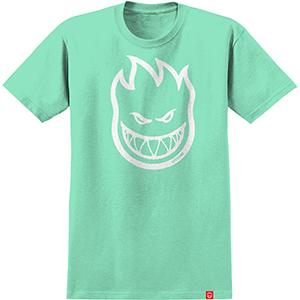 Spitifre Bighead T-Shirt Mint/White