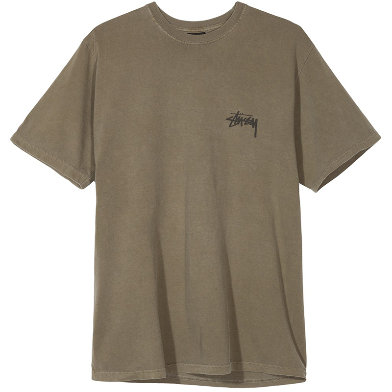 Stussy 8 Ball Pig Dyed T-shirt Army