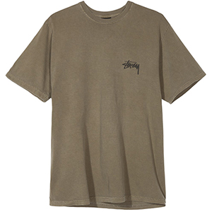 Stussy 8 Ball Pig Dyed T-shirt Army