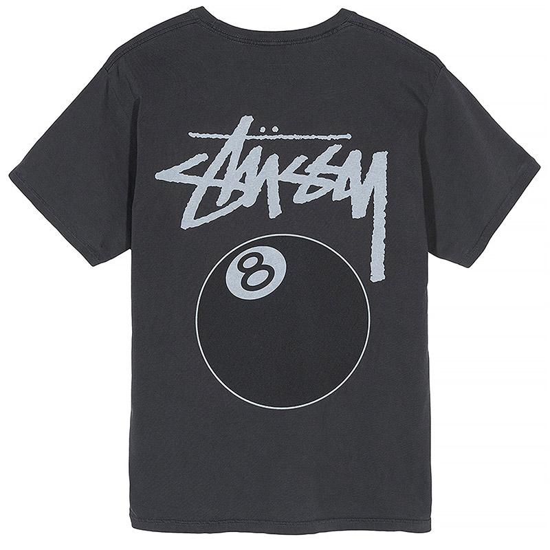 Stussy 8 Ball T-Shirt Black