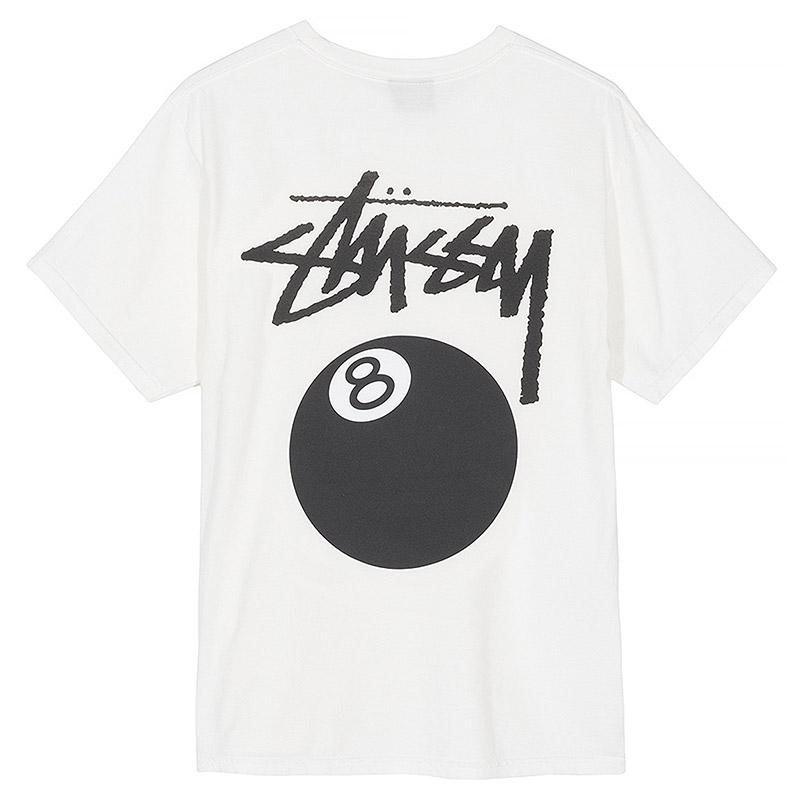 Stussy 8 Ball T-Shirt White
