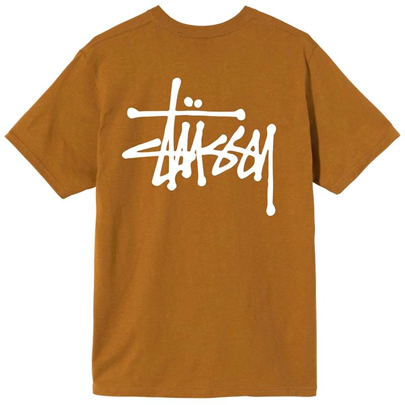 Stussy Basic Stussy T-Shirt Caramel