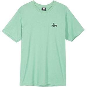 Stussy Basic Stussy T-Shirt Moss