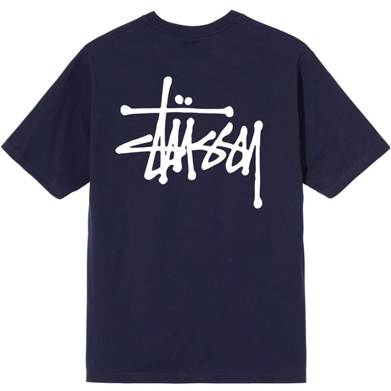 Stussy Basic Stussy T-Shirt Navy