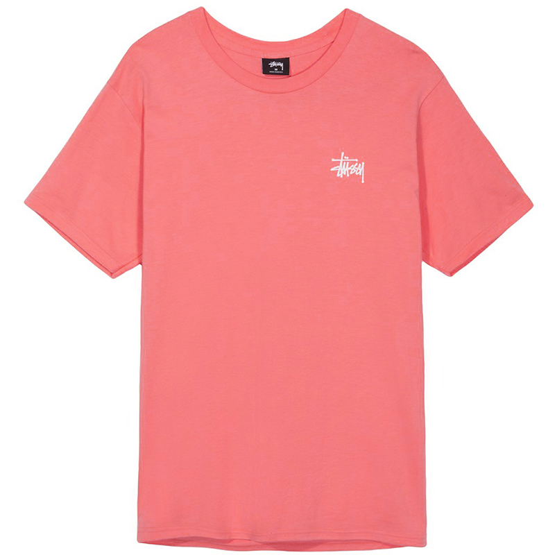 Stussy Basic Stussy T-Shirt Rose