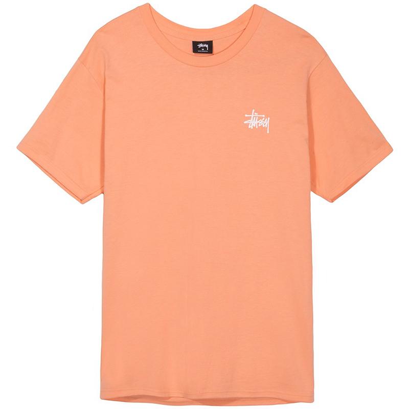 Stussy Basic Stussy T-Shirt Salmon