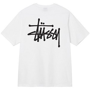 Stussy Basic Stussy T-Shirt White