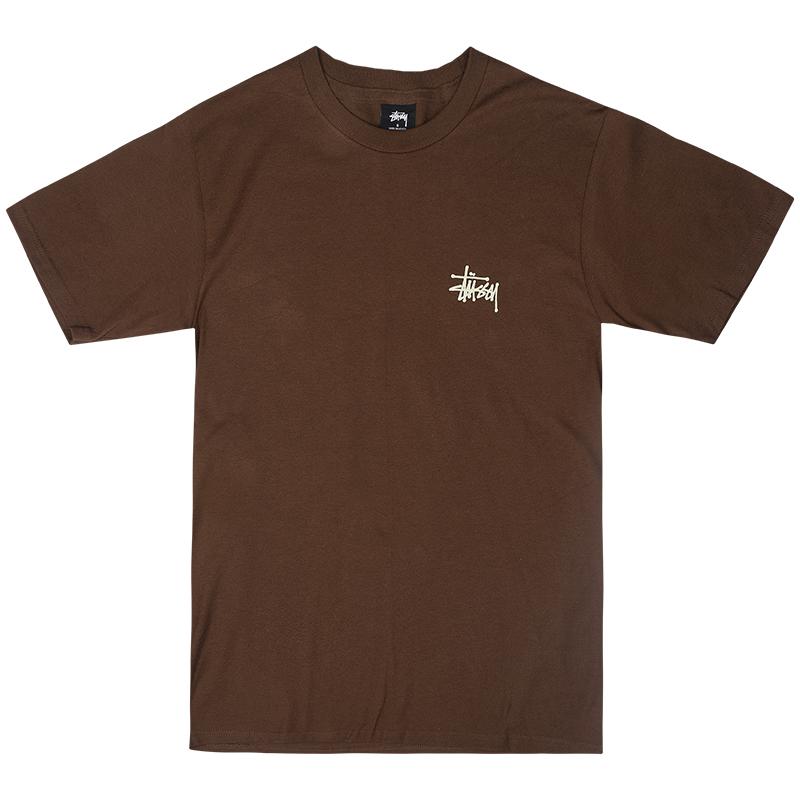 Stussy Basic T-Shirt Chocolate