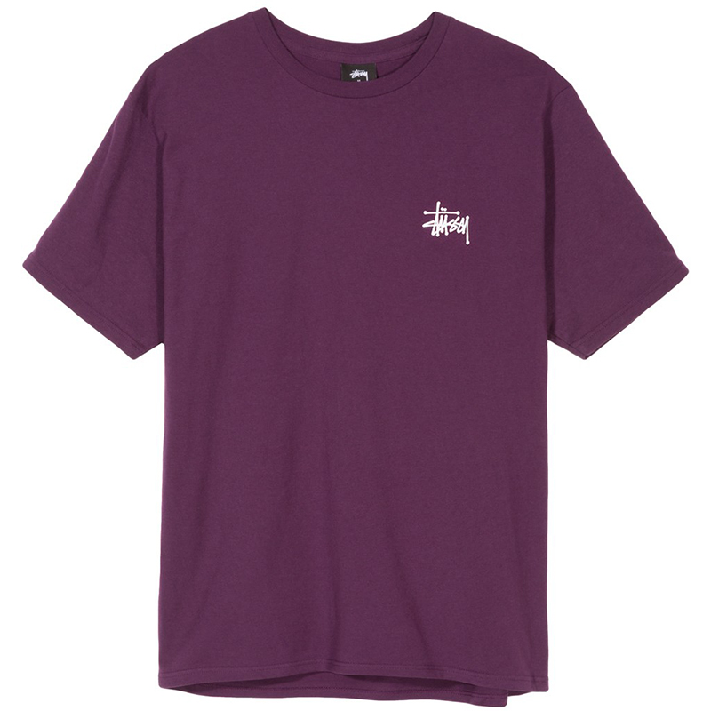 Stussy Basic T-Shirt Grape