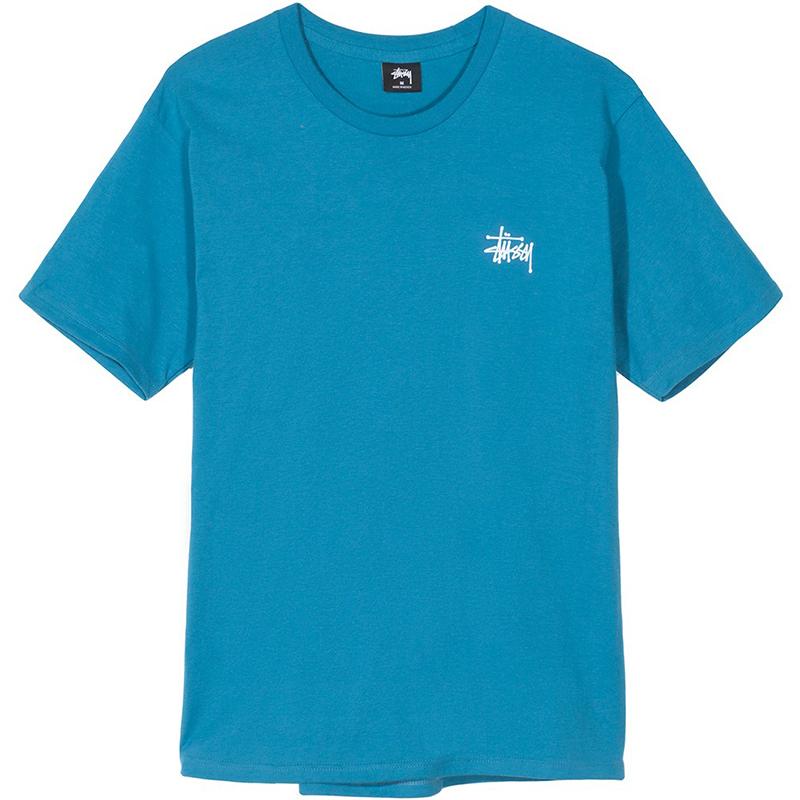 Stussy Basic T-Shirt Ocean