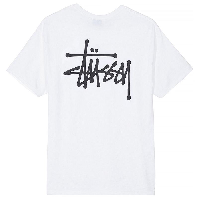 Stussy Basic T-Shirt White