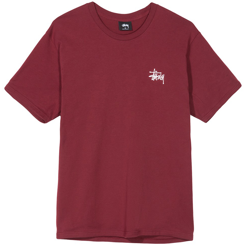 Stussy Basic T-shirt Wine