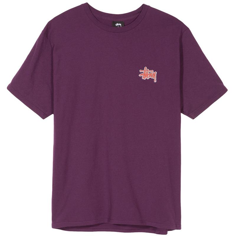 Stussy Checkers T-Shirt Grape