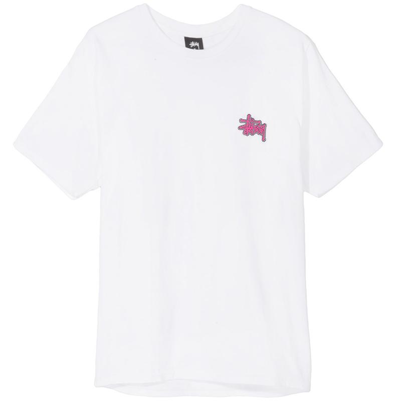 Stussy Checkers T-Shirt White