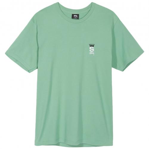 Stussy Crown Royal T-Shirt Moss
