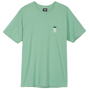Stussy Crown Royal T-Shirt Moss