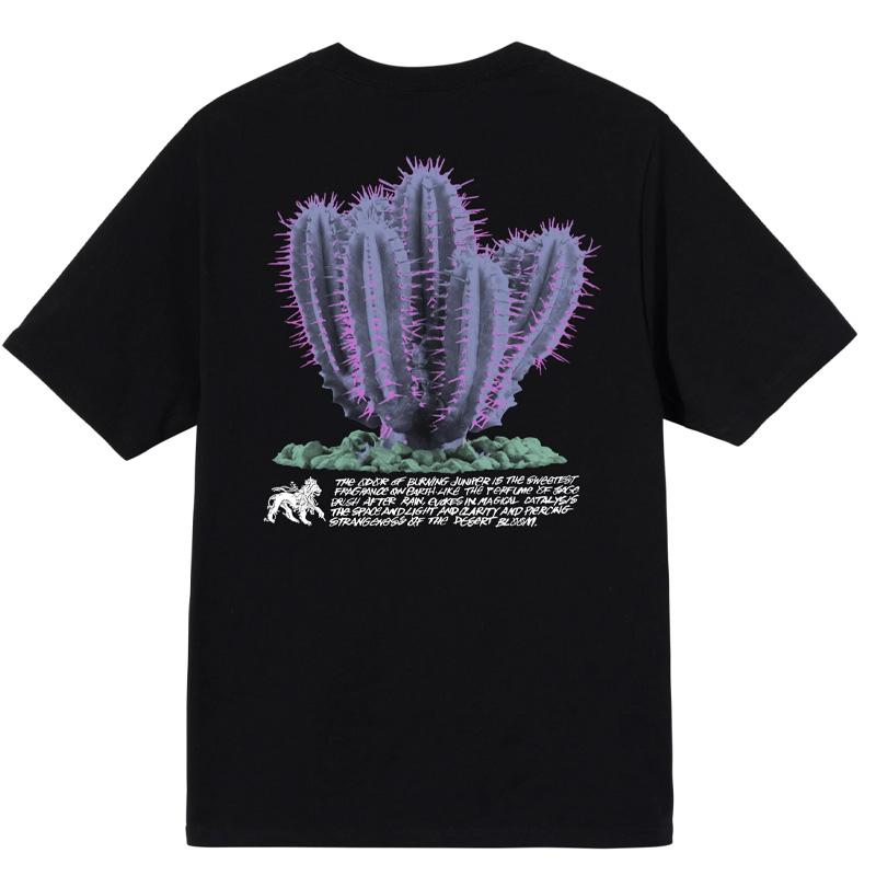 Stussy Desert Bloom T-Shirt Black