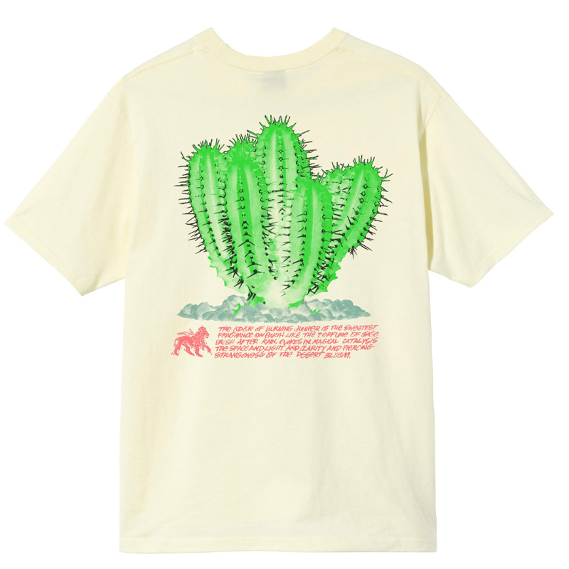Stussy Desert Bloom T-Shirt Pale Yellow