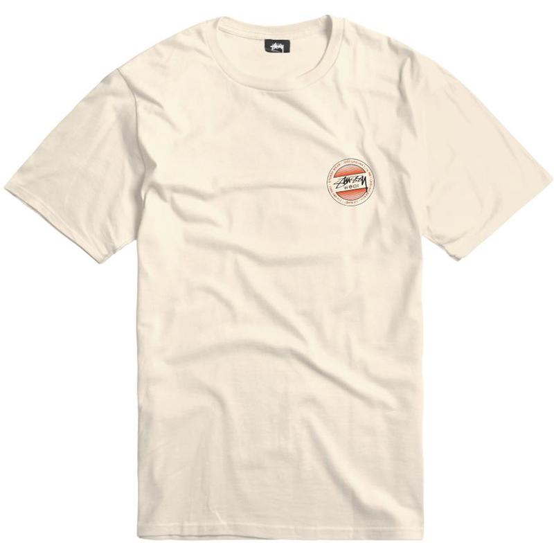 Stussy Dot Fade T-shirt Natural