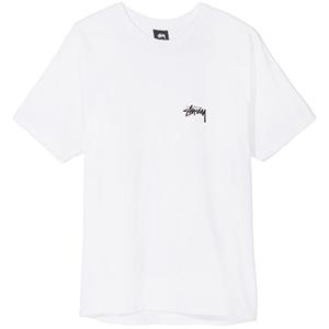 Stussy Fire On Babylon T-Shirt White