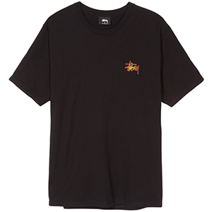 Stussy Fireball T-Shirt Black