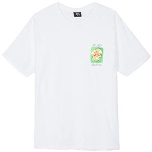 Stussy Hibiscus T-Shirt White