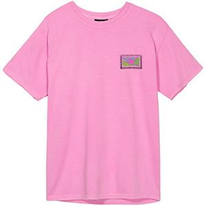 Stussy Horizon Pig. Dyed T-Shirt Pink