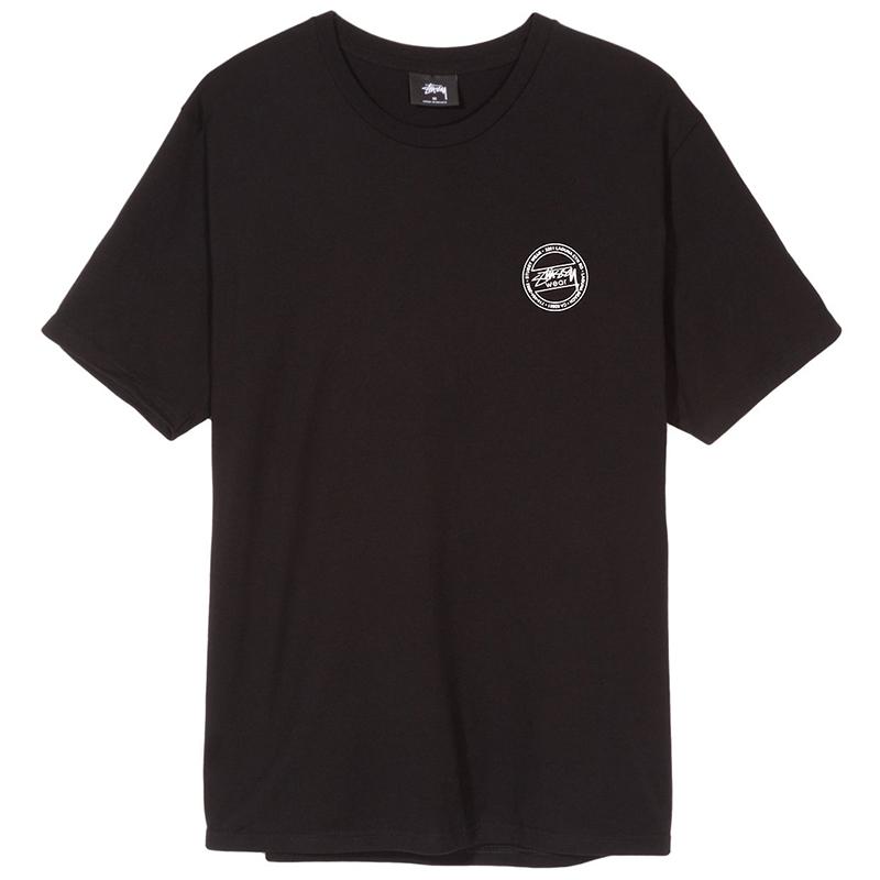 Stussy Laguna Dot T-Shirt Black