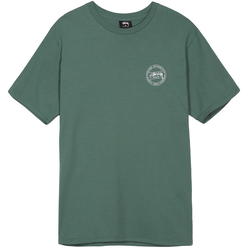 Stussy Laguna Dot T-Shirt Sage