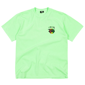 Stussy Rasta Sk8 Pig. Dyed T-Shirt Green