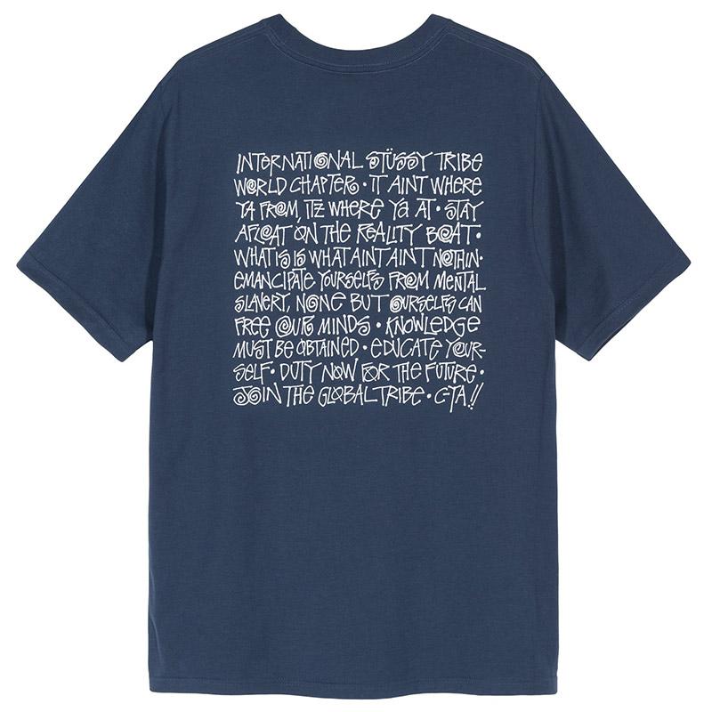 Stussy Say It Loud T-Shirt Navy