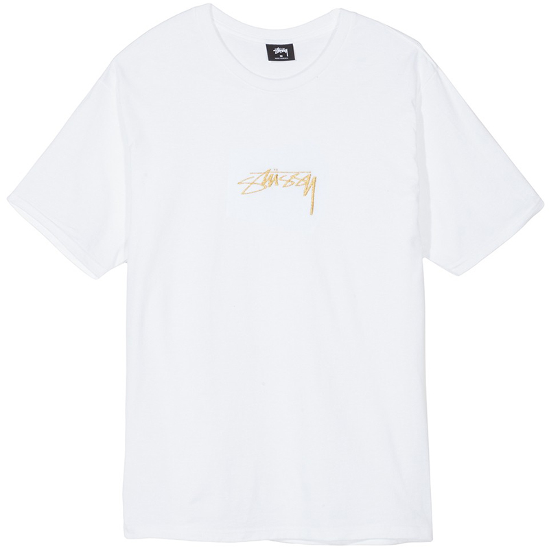 Stussy Smooth Stock T-shirt White
