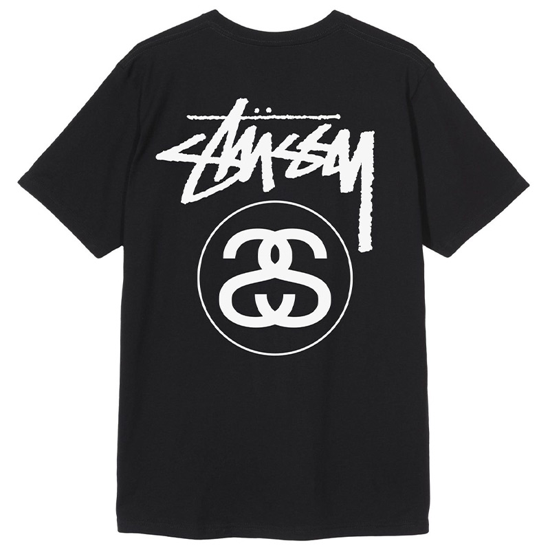 Stussy Stock Link T-Shirt Black
