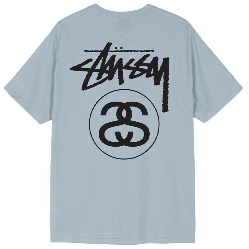 Stussy Stock Link T-Shirt Slate
