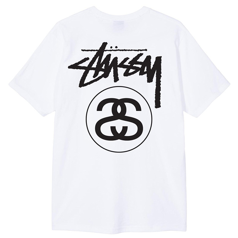 Stussy Stock Link T-Shirt White