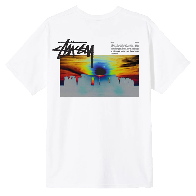 Stussy Stonehenge T-Shirt White